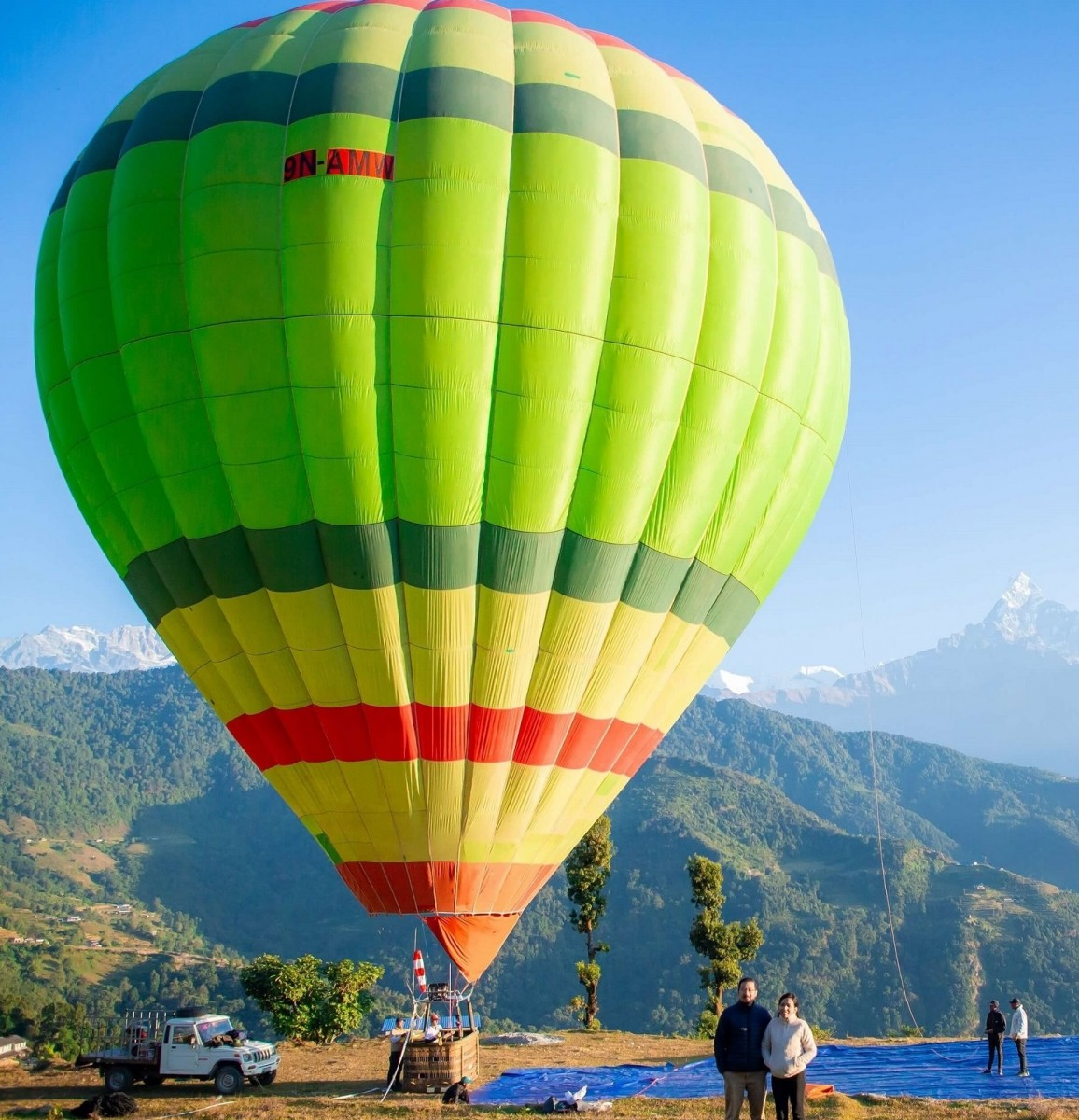 Hot Air Ballooning in Pokhara Nepal