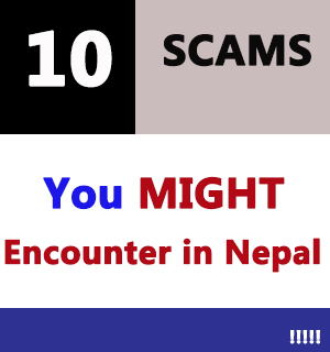 Tourism scams in Nepal