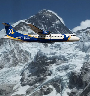 Mountain Flight in Nepal