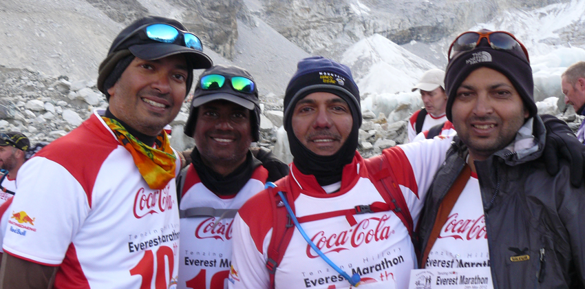 Everest Marathon 18 Days Half and full